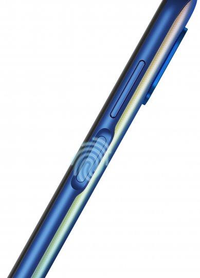 Der Fingerabdruck-Scanner des Motorola Moto G 5G Plus ist im rechts liegenden An/Aus-Knopf integriert
