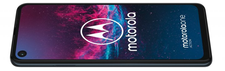 Eine Besonderheit ist auch das Display des Motorola One Action, der ein 21:9-Seitenverhältnis aufweist