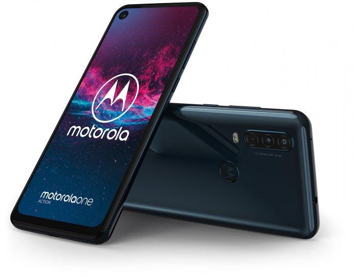 Das Motorola One Action ist das erste Smartphone mit integrierter Action-Cam
