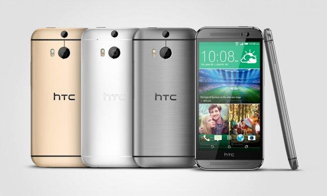 Das neue HTC One in allen drei Farben, die bald im Handel verfügbar sein werden [Bildmaterial: HTC]