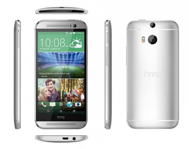 Das neue HTC One von allen Seiten [Bildmaterial: HTC]