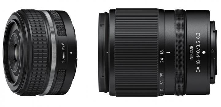 Passend zur Z fc liefert Nikon Objektiv-Nachschub in Form des 28 mm f/2.8 SE sowie 18-140 mm [Bildmaterial: Nikon Deutschland]
