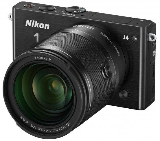 Nikon 1 J4 mit 1 Nikkor 10-100 mm f/4-5.6 VR [Bildmaterial: Nikon]