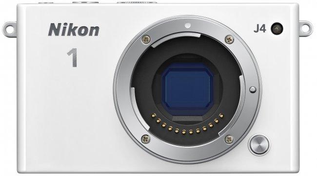 Nikon 1 J4 - Blick auf den CX-Bildsensor [Bildmaterial: Nikon]