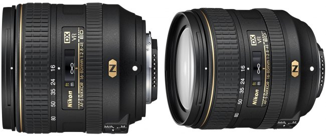 Nikon AF-S DX Nikkor 16-80 mm f/2.8-4E ED VR