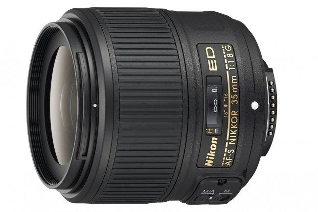 Nikon AF-S Nikkor 35 mm f/1.8G ED (Bildmaterial: Nikon)
