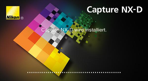 Nikon Capture NX-D - Nicht nur die Installation wirkt sehr modern