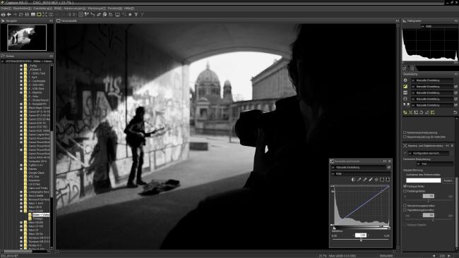 Nikon Capture NX-D - Für einen kostenfreien RAW-Konverter bietet Nikon einen sehr hohen Funktionsumfang