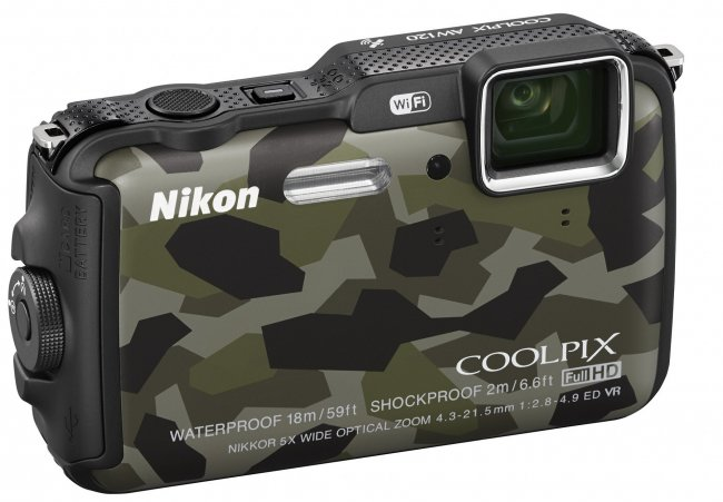 Nikon Coolpix AW120: Neue kompakte Unterwasserkamera [Bildmaterial: Nikon]