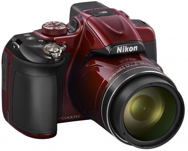 Nikon Coolpix P600: Super-Zoom-Kompaktkamera mit 60-fach optischem Zoom [Bildmaterial: Nikon]