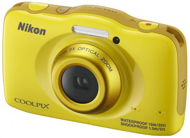 Nikon Coolpix S32: Neue kompakte Unterwasserkamera für Familien und Kinder [Bildmaterial: Nikon]