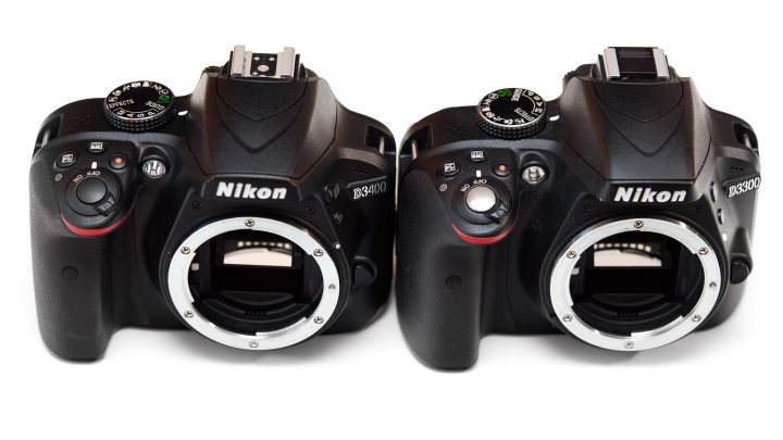 Nikon D3400: Nicht nur äußerlich der D3300 zum Verwechseln ähnlich