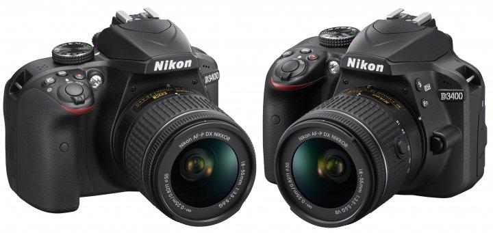 Nikon D3400: Nun mit Bluetooth 4.1 LE, aber ohne Mikrofon-Anschluss [Bildmaterial: Nikon]