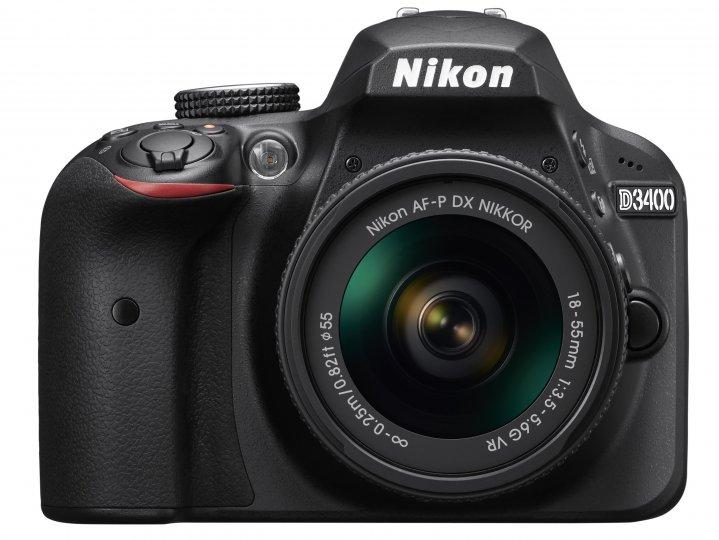 Nikon D3400 [Bildmaterial: Nikon]