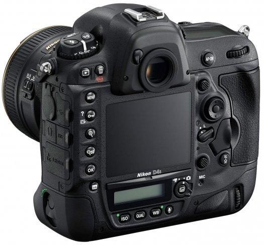 Nikon D4s: Rückseite [Bildmaterial: Nikon]