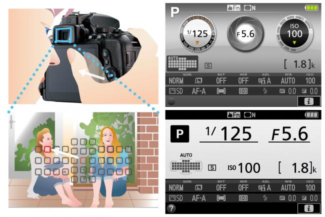 Neues Menü und Touch-Funktionen der Nikon D5500 [Bildmaterial: Nikon]