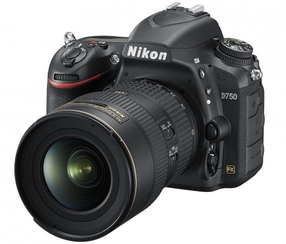 Auf der photokina 2014 zu sehen: Nikon D750 [Bildmaterial: Nikon]