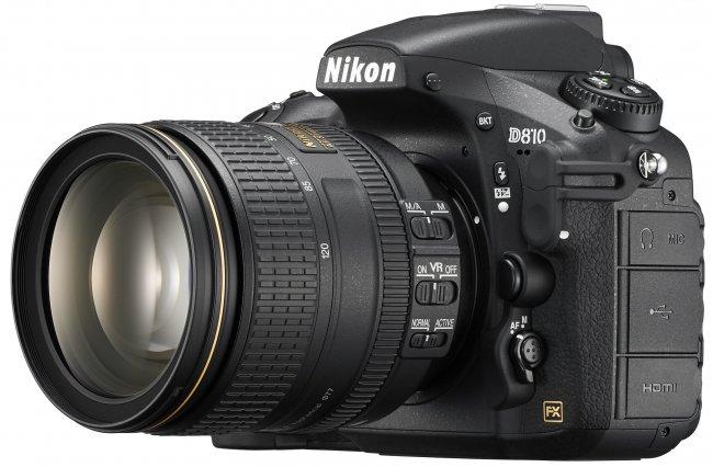 Nikon D810 mit AF-S 24-120 mm VR [Bildmaterial: Nikon]