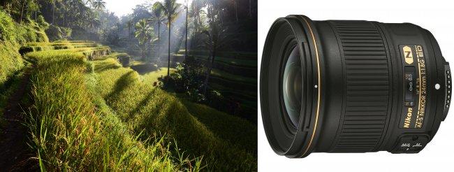 Testbild Nikon AF-S NIKKOR 24 mm f/1.8G ED + Nikon D750 [Bildmaterial: Alex Soh; Nikon]