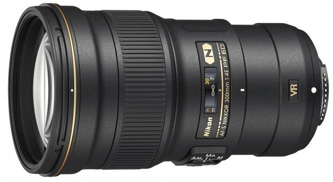 AF-S Nikkor 300 mm f/4E PF ED VR mit Beugungslinse [Bildmaterial: Nikon]