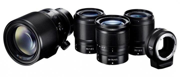 Nikon Z-Objektive [Bildmaterial: Nikon]