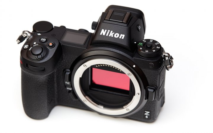 Nikon Z6: Im Inneren werkelt ein Vollformat-Bildsensor mit 24 Megapixeln Auflösung
