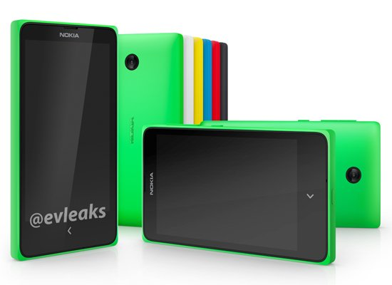 Nokia X, Project Normandy: Nokias erstes Smartphone mit Android Quelle: evleaks @ Twitter
