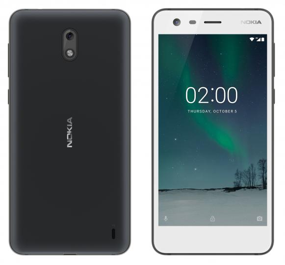 Highlights des Nokia 2 sind der günstige Preis und der riesige Akku