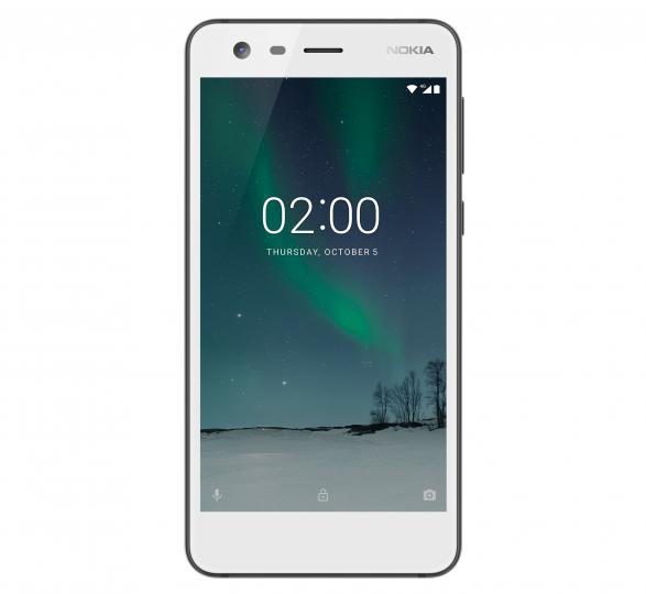Das Display des Nokia 2 ist bei Sonnenlicht schlecht ablesbar