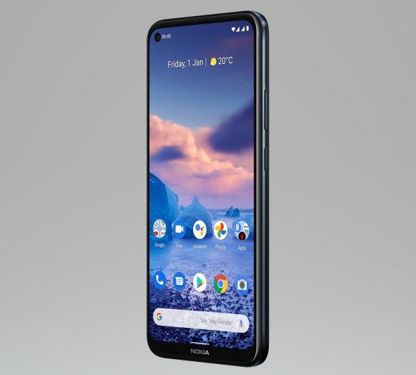 Wie beim Nokia 3.4 ist beim Nokia 5.4 ein 6,4-Zoll-LC-Display mit nur 1.560 x 720 Pixeln verbaut