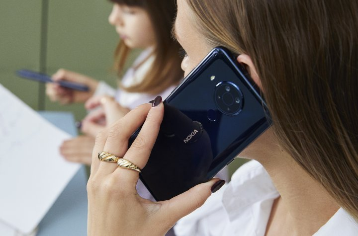 Sowohl im Vodafone- als auch im O2-Netz glänzt das Nokia 5.4 mit einer guten Sprach- und Empfangsqualität