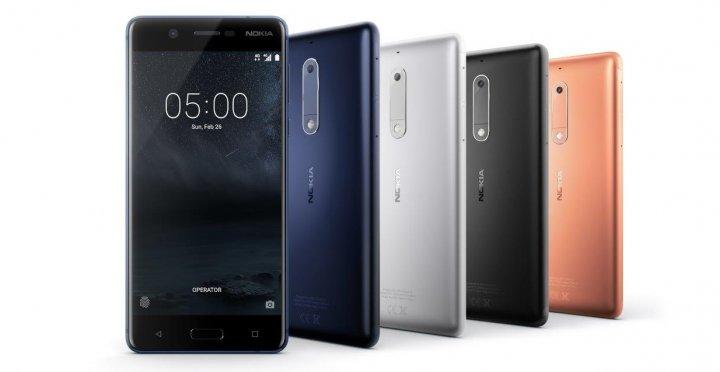 Das Gehäuse des Nokia 5 ist wie das des Nokia 6 aus einem Aluminium-Block gefertigt