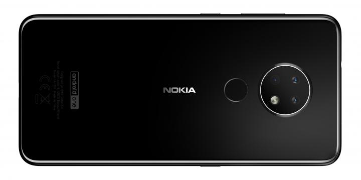 Der Android-One-Schriftzug auf der Rückseite verrät, dass das Nokia 6.2 bevorzugt mit Updates versorgt wird