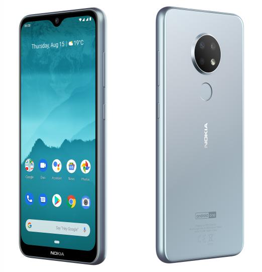 Das Nokia 6.2 steckt in einem soliden Kunststoffgehäuse und wird über ein 6,3-Zoll-Display gesteuert