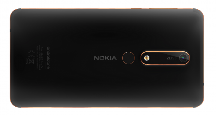 Die 16-Megapixel-Hauptkamera des Nokia 6.1 hat ein Objektiv von Zeiss