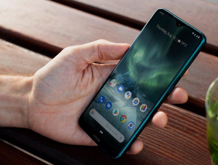 Das Display des Nokia 7.2 bietet eine Pixeldichte von 409 ppi und einen recht großen Betrachtungswinkel