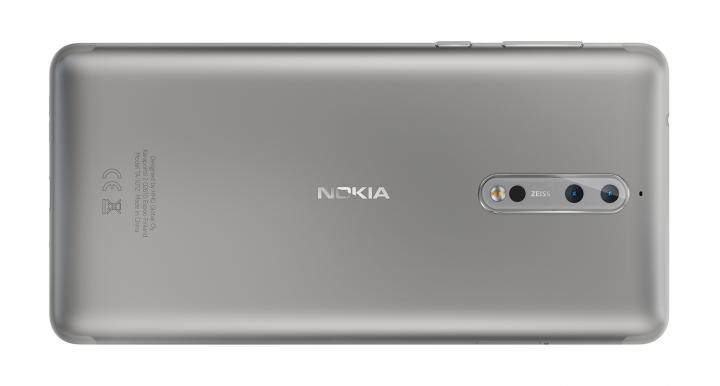 Die Dual-Kamera des Nokia 8 besteht aus einer 8- und einer 12-MP-Kamera