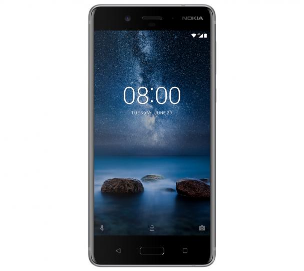 Das Nokia 8 läuft auf reinem Android und soll lange Updates bekommen