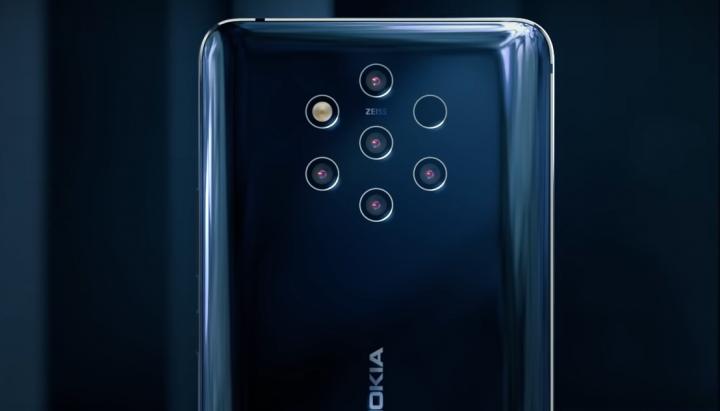 Das Nokia 9 PureView rechnet aus den Bilder der fünf einzelnen Zwölf-MP-Kameras das optimale Zwölf-MP-Bild zusammen