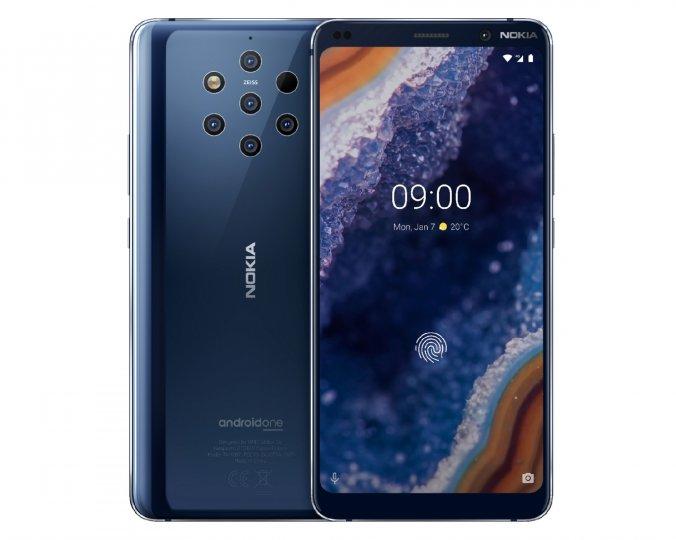 Das Gehäuse des Nokia 9 PureView ist wasser- und staubdicht und sein 5,99-Zoll-Display wird von Corning Gorilla Glas geschützt