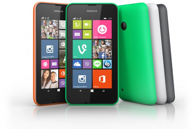 Nokia Lumia 530 [Bildmaterial: Nokia]