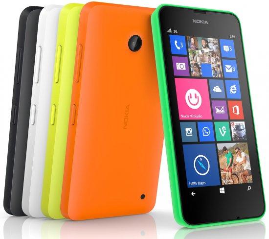 Um ihre Vorgänger abzulösen kommen Lumia 630 und Lumia 635 mit aktueller Hardware für das Einsteigersegment [Bildmaterial: Nokia]