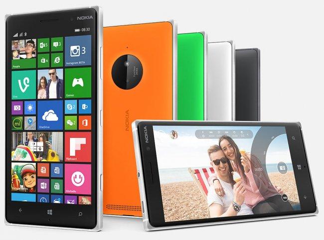 Das Lumia 830 dient als abgespecktes Flaggschiff mit PureView-Kamera und Wireless Charging [Bildmaterial: Nokia]