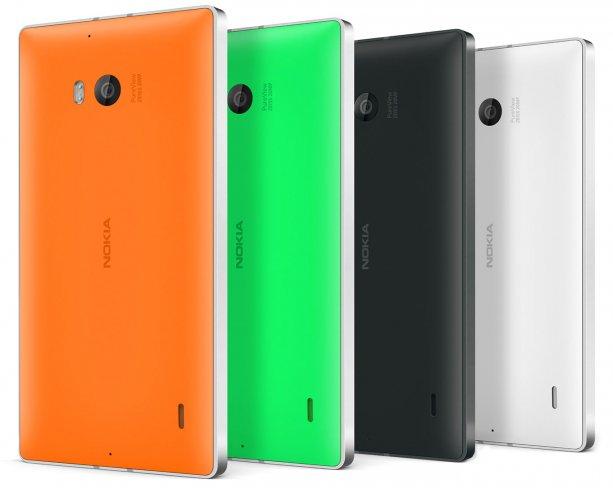 Das Nokia Lumia 930 kommt mit 20 Megapixel PureView-Kamera und Dual-LED-Blitz und wird in vier Farben erhältlich sein [Bildmaterial: Nokia]