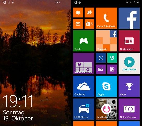 Nokia Lumia 930: Windows Phone 8.1 bietet inzwischen zahlreiche Optionen, um das Betriebssystem den eigenen Bedürfnissen anzupassen