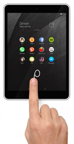 Der neue Z Launcher soll unter Android 5.0 die Bedienung durch Gesten erleichtern [Bildmaterial: Nokia]