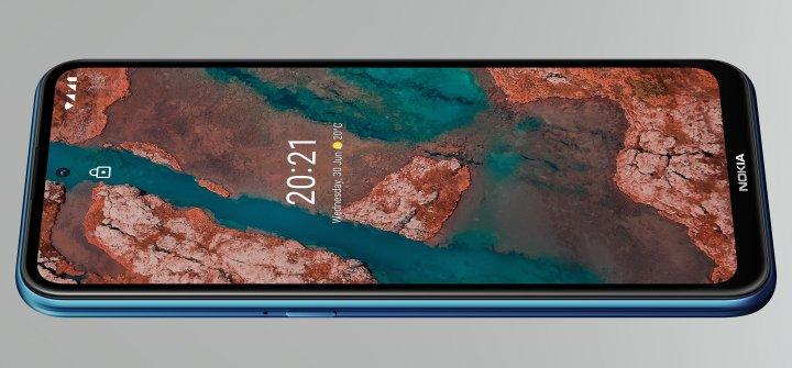 Das LC-Display des Nokia X20 bietet eine stabilen Blickwinkel, aber leider nur sehr matte Farben