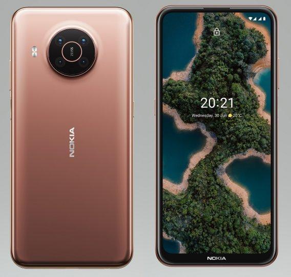 Beim neuen Nokia X20 ist Nachhaltigkeit Trumpf