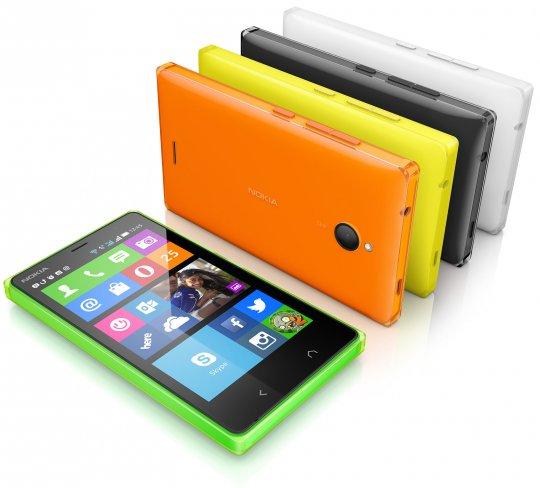 Das Nokia X2 wird wieder in verschiedenen auffälligen Farben erhältlich sein [Bildmaterial: Nokia]