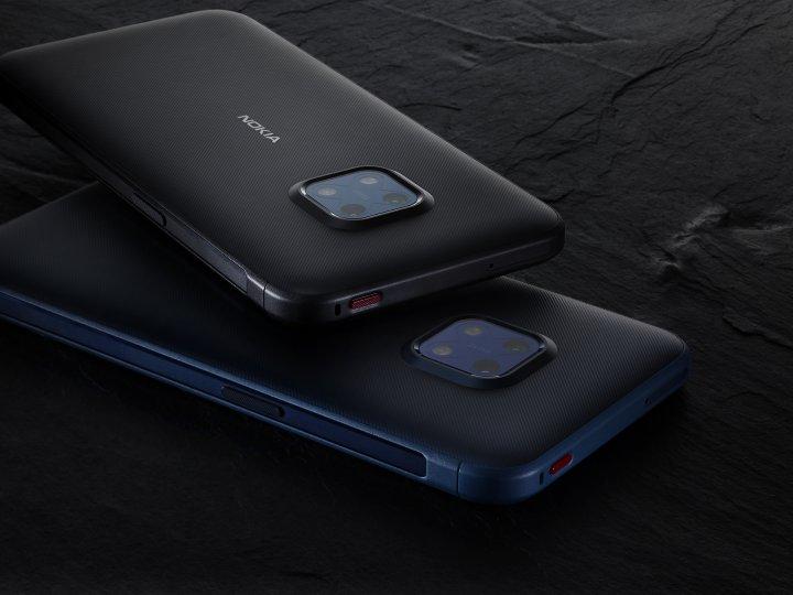 Das Nokia XR20 verfügt über einen ausdauernden Akku und surft wieselflink im 5G-Netz